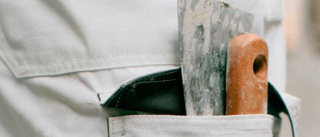 vêtements de travail peintre et platrier