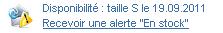 exemple alerte stock