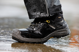 Chaussures de sécurité Hydro possédant une membrane en Sympatex