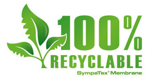 Logo 100% recyclable