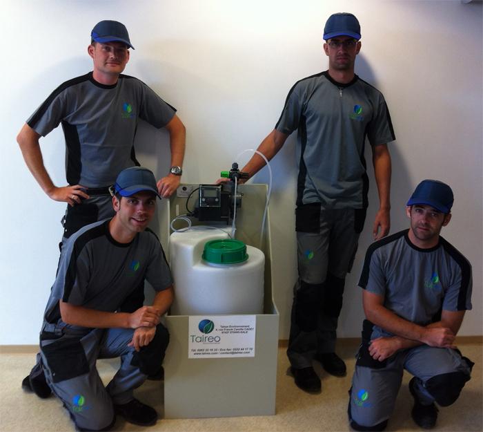 L'entreprise Taireo Environnement a fait confiance à MODYF pour la personnalisation de ses vêtements de travail