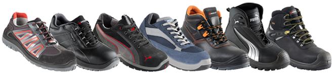 Exemples de chaussures de sécurité normées SRC