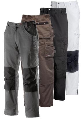 Pantalons de travail disponibles sur Modyf.fr