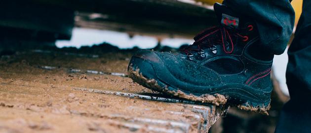 chaussures pour le BTP