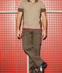 Pantalon professionnel tissu polycoton