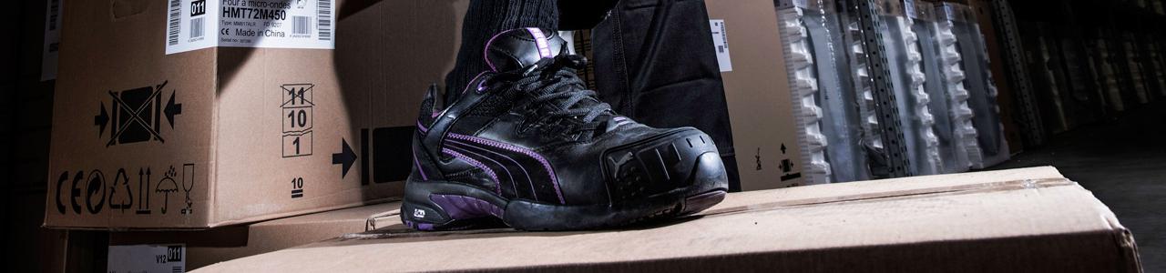 chaussures de sécurité Puma pour femmes