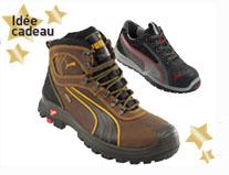 Chaussures de sécurité Puma Sympatex