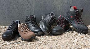 Plusieurs modèles de chaussures de sécurité