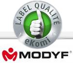 Avis clients MODYF certifiés