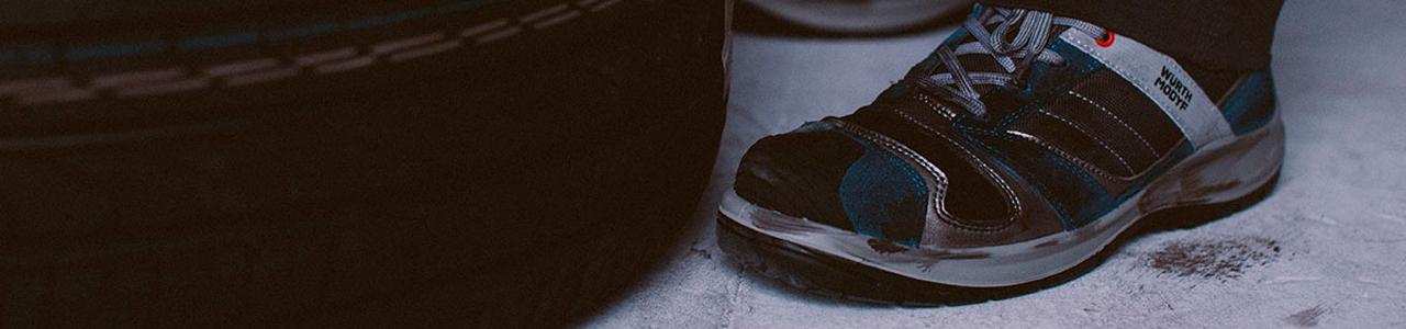 Accident travail chaussures de sécurité