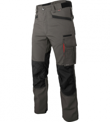 pantalon travail nature gris