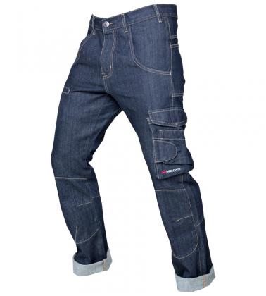 Jeans de travail Multipoches