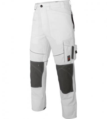Pantalon de travail blanc pour plâtrier