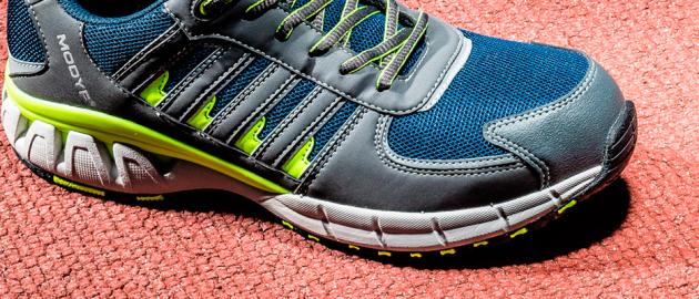 Chaussures de sécurité confortable pieds sensibles