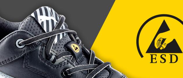 Chaussures sécurité norme ESD