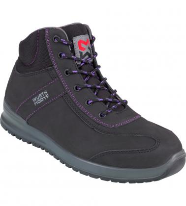 Chaussures de sécurité montantes pour femme