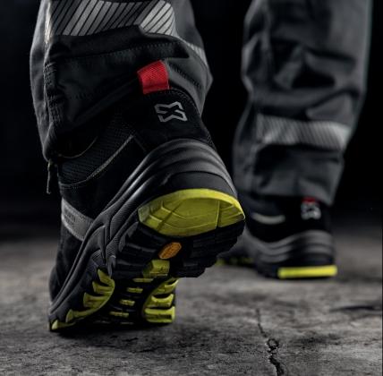 Chaussures de sécurité pour pieds sensibles