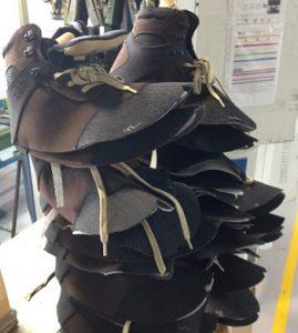 Chaussures de sécurité sans semelle ni coque - fabrication dune chaussure de sécurité