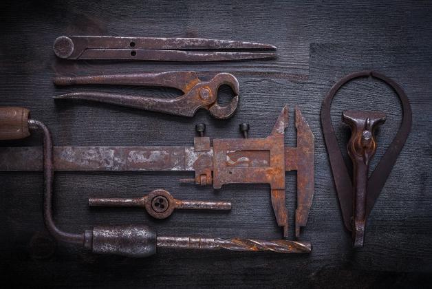 Quelques outils utilisés au moyen-âge