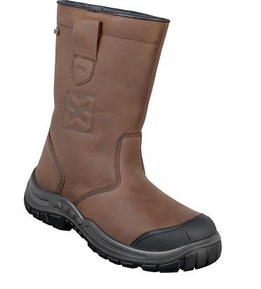Chaussures bottes securite coque protection acier