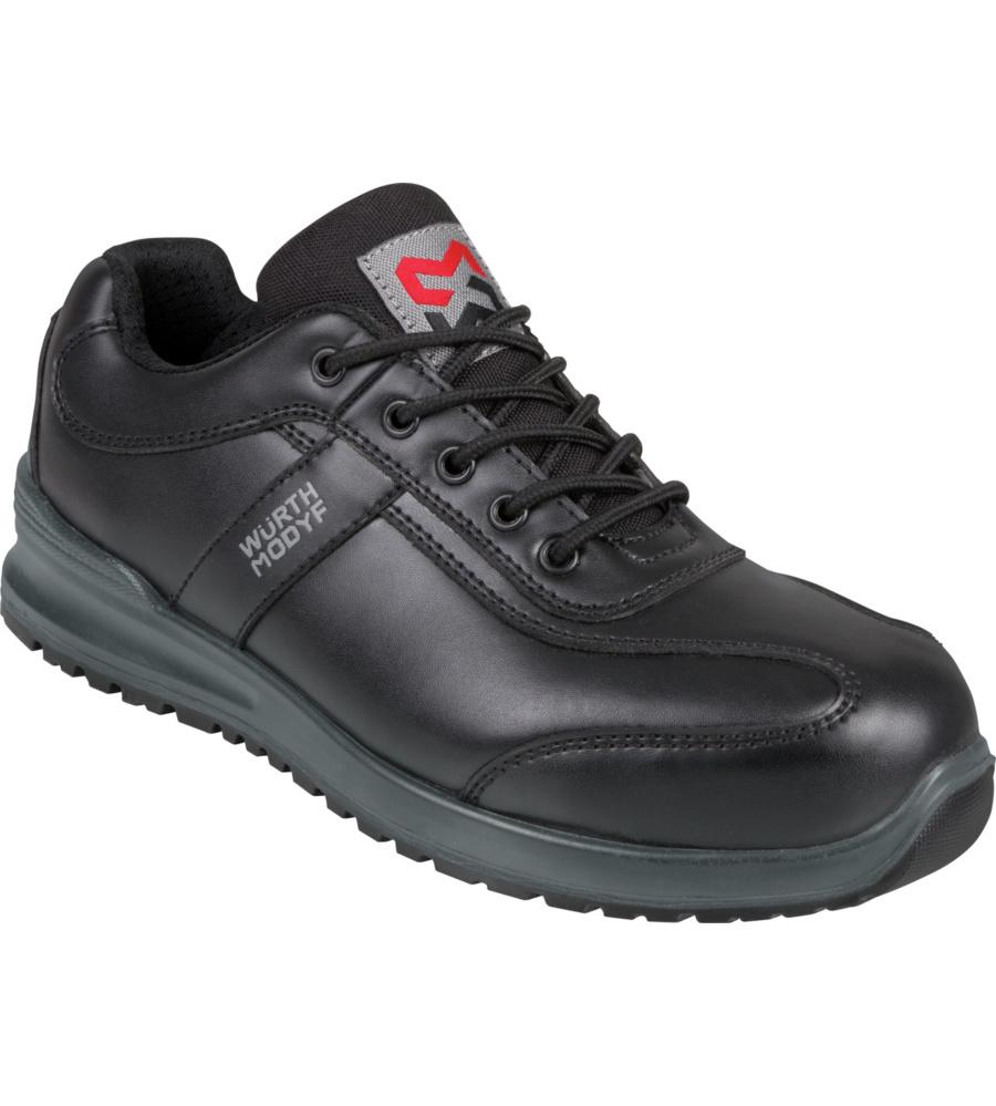 Chaussures de sécurité basses femmes en cuir