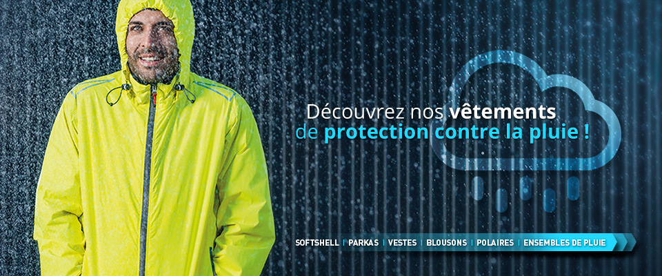 vêtements de travail pluie et hiver