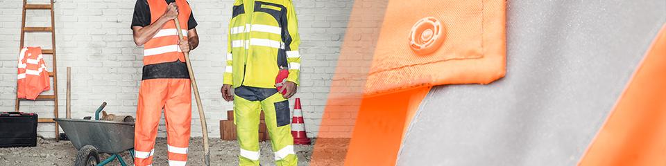 vêtements de travail haute-visibilité