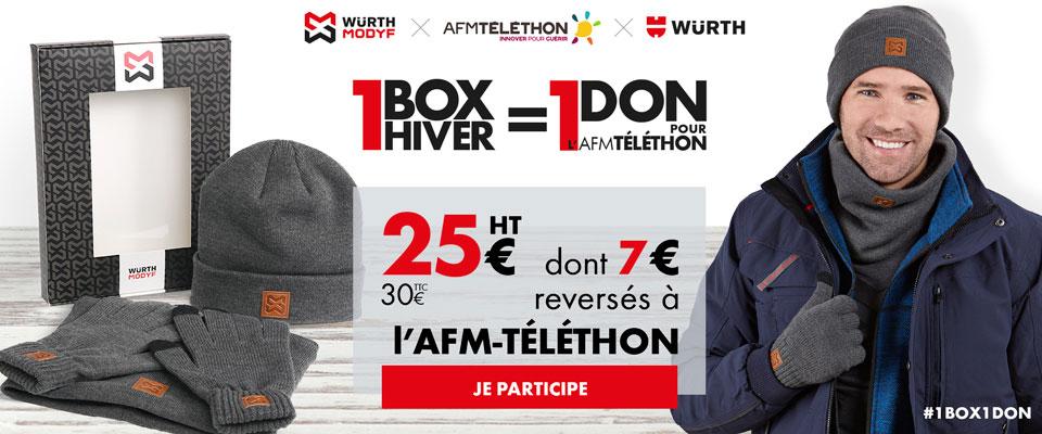 Würth opération Téléthon