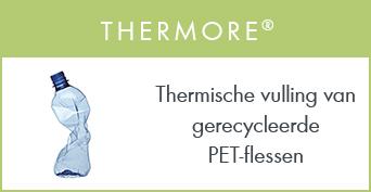 Thermore : Thermische vulling van gerecycleerde PET-flessen