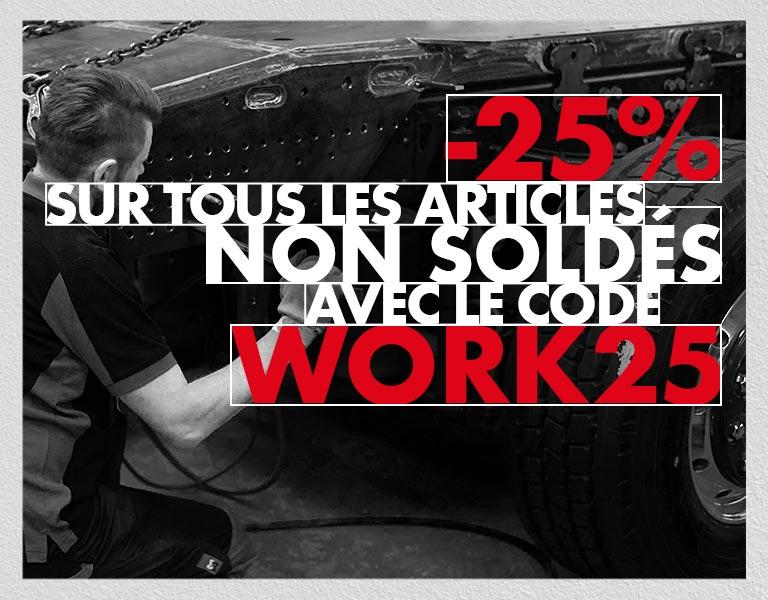 Offre exclusive : -25% sur tous les produits non soldés