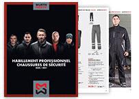 catalogue bleus de travail et chaussures de sécurité Würth Modyf 2017-2018