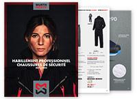 catalogue bleus de travail et chaussures de sécurité Würth Modyf 2021-2022