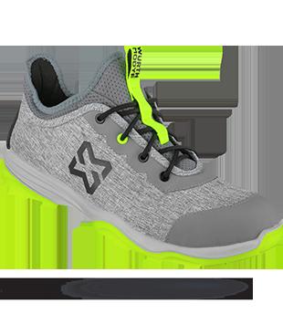Chaussures de sécurité S1P EcoFresh Würth MODYF gris jaune