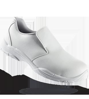 Chaussure de sécurité sans lacets White