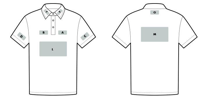 Marquage polo et t-shirt de travail
