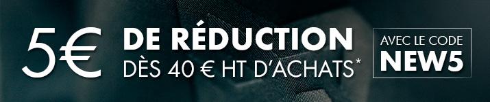 5 € offerts sur Modyf.fr avec le code NEW5
