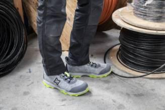 Chaussures de sécurité vertes