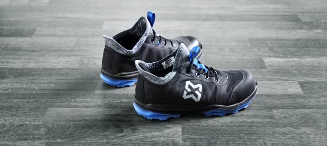 Chaussures de sécurité bleues