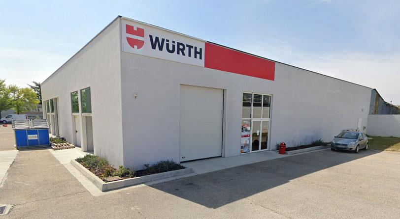 Würth shop Lyon