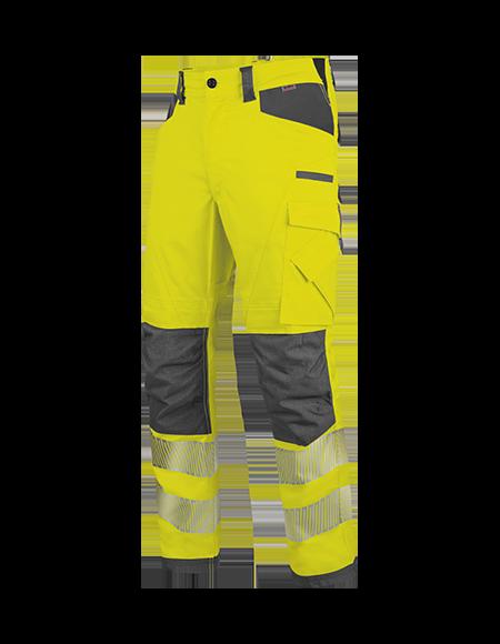 Warnschutz Bundhose in Gelb