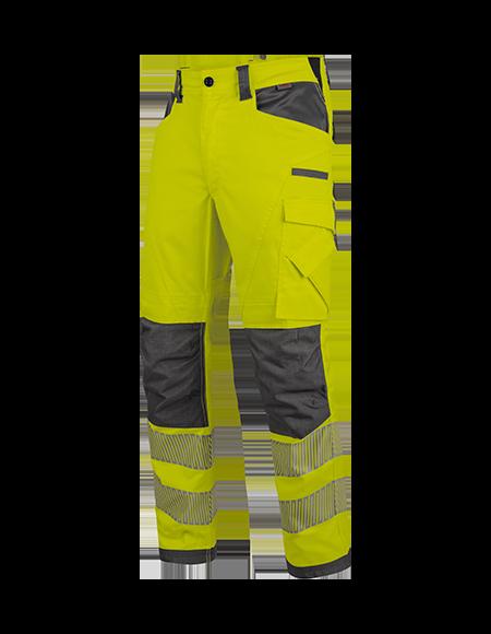 Warnschutz Winterhose NEON in Gelb