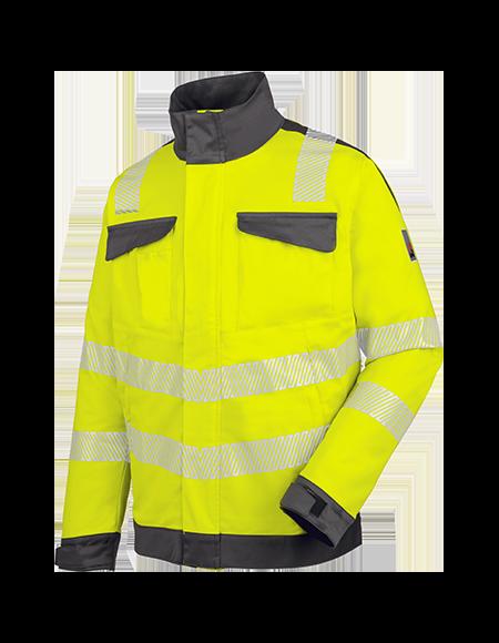 Warnschutz Bundjacke NEON in Gelb