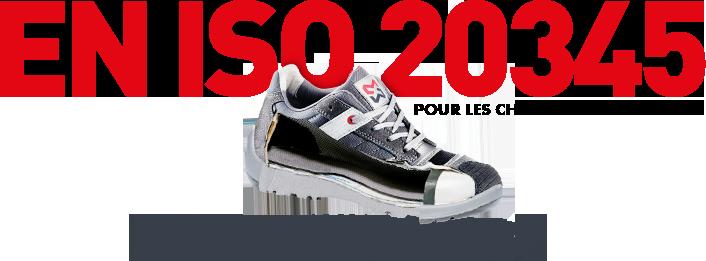 en iso 20345 pour les chaussures de sécurité