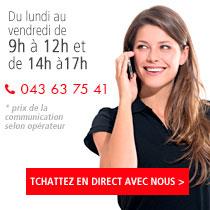 Contacter MODYF aux horaires de bureau au + 33 (0)3 88 11 29 58