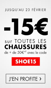 -15€ sur les chaussures de sécurité
