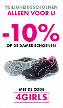 -10% op de dames schoenen met de code 4GIRLS