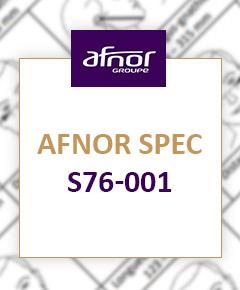 AFNOR S76-001 en détails