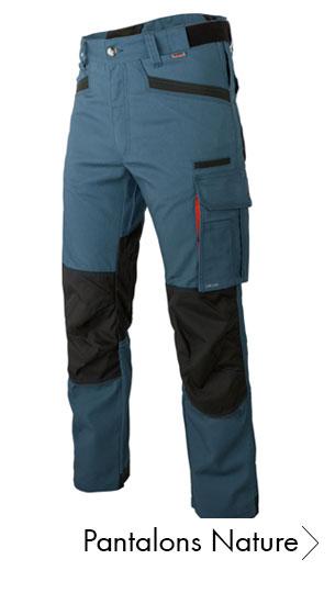Découvrez le pantalon de travail Nature bleu