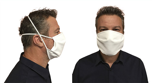 Bien mettre son masque sur le visage