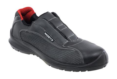 Chaussures de sécurité sans métal et sans lacets